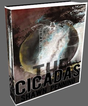 Display Larger Image of The Cicadas Cover Art by Alexandra Nys