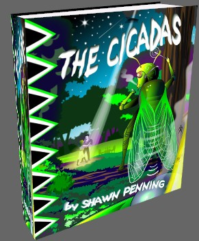 Display Larger Image of The Cicadas Cover Art by Rene Zamic